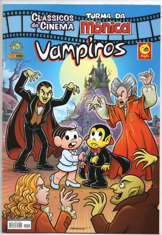 CLÁSSICOS DO CINEMA n°45 - VAMPIROS - PANINI