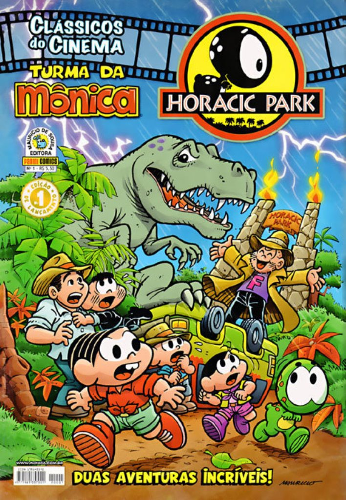 CLÁSSICOS DO CINEMA n°01 - HORACIC PARK I - ED. PANINI