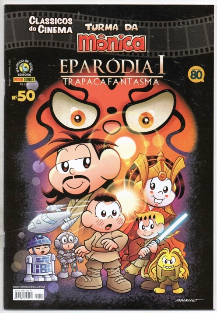 CLÁSSICOS DO CINEMA n°50 - EPARÓDIA I - PANINI