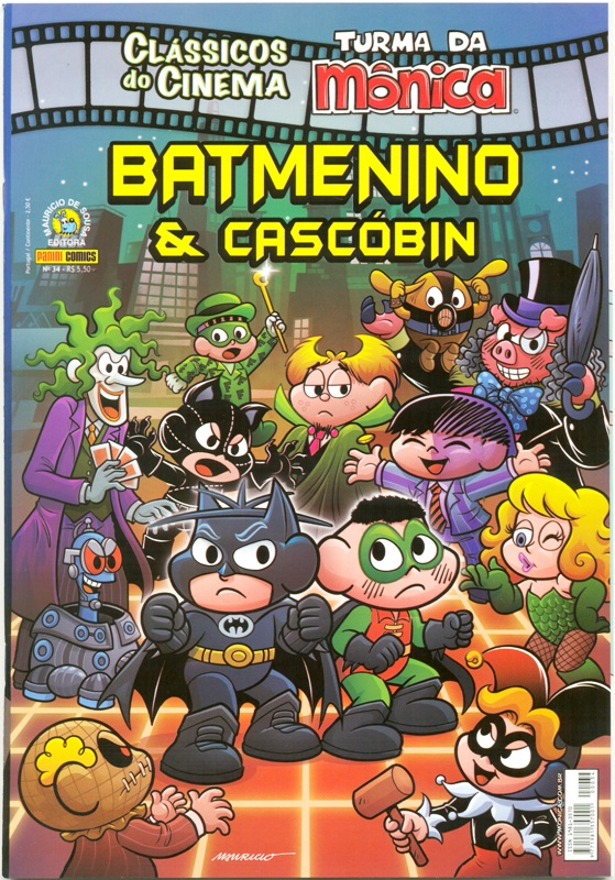 CLÁSSICOS DO CINEMA n°34 - BATMENINO & CASCÓBIN - PANINI