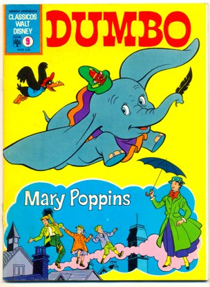 CLÁSSICOS WALT DISNEY nº09 - DUMBO E MARY POPPINS