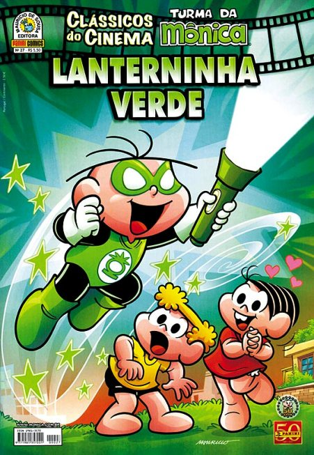 CLÁSSICOS DO CINEMA n°27 - LANTERNINHA VERDE - PANINI