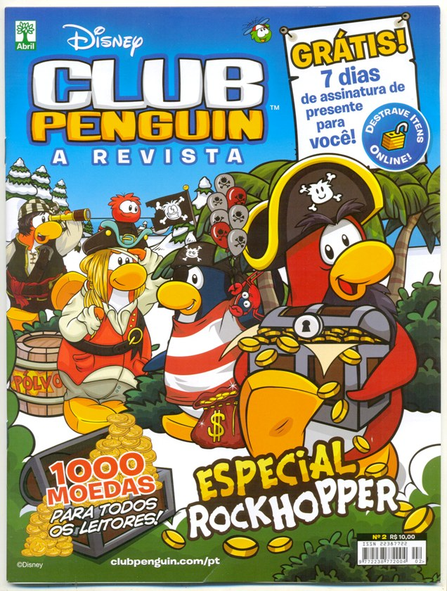 CLUB PENGUIN - A REVISTA nº02 - ED. ABRIL
