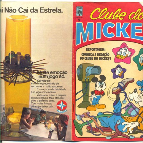 CLUBE DO MICKEY nº02 - EDITORA ABRIL