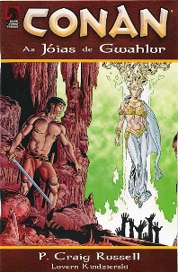 CONAN - AS JÓIAS DE GWAHLUR - MYTHOS