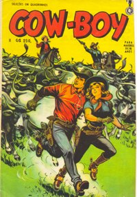 COW-BOY n°08 - ED. LA SELVA