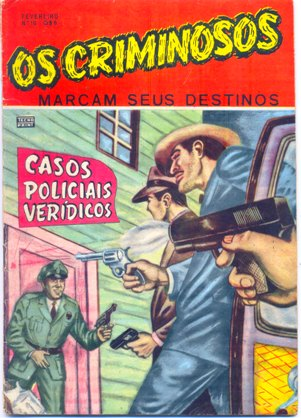 OS CRIMINOSOS n°10 - EDITORA TECNOPRINT