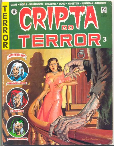 CRIPTA DO TERROR nº03 - ED. RECORD