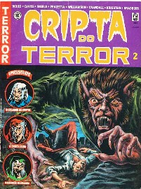 CRIPTA DO TERROR nº02 - ED. RECORD