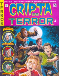 CRIPTA DO TERROR nº04 - ED. RECORD