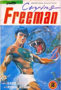 CRYING FREEMAN PARTE 2 - EDITORA SAMPA
