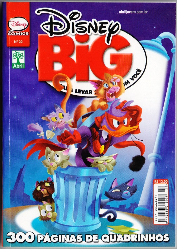 DISNEY BIG nº22 - EDITORA ABRIL