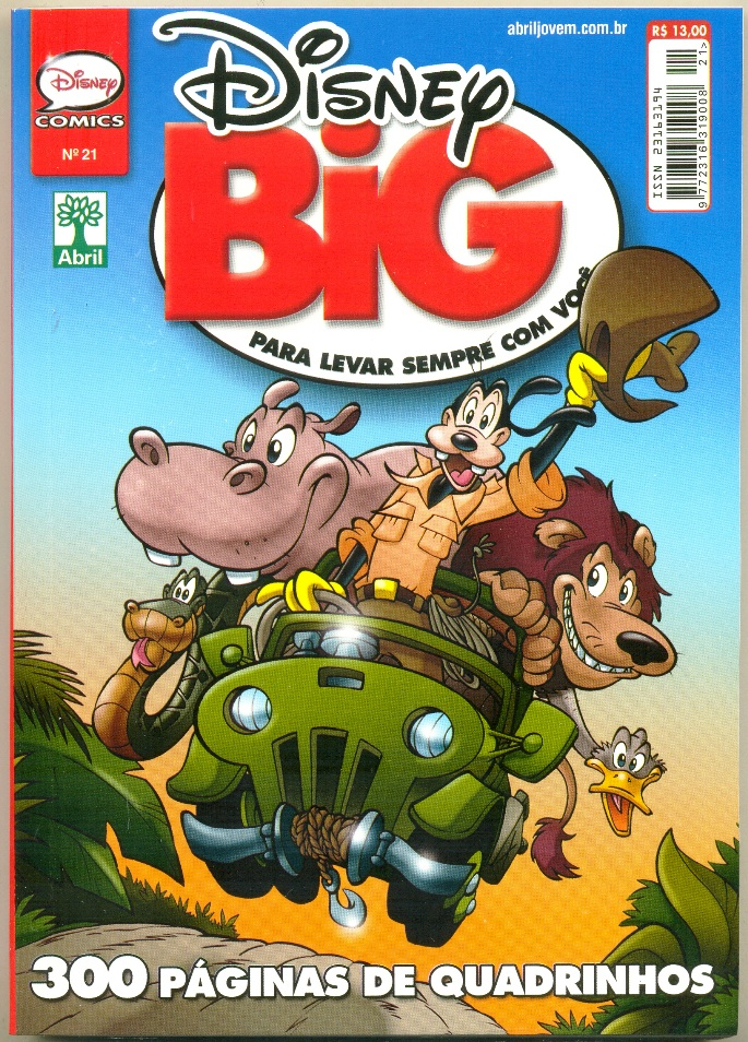 DISNEY BIG nº21 - EDITORA ABRIL