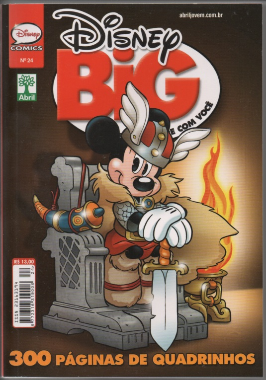 DISNEY BIG nº24 - EDITORA ABRIL
