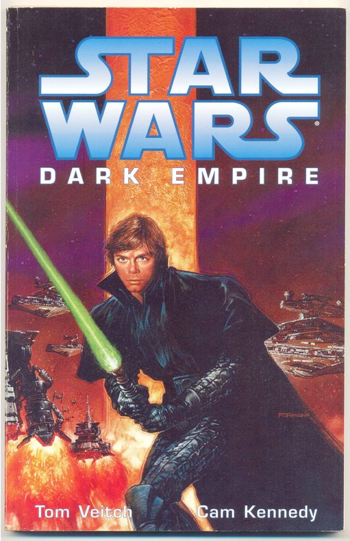 STAR WARS - DARK EMPIRE 1 TP - IMPORTADA