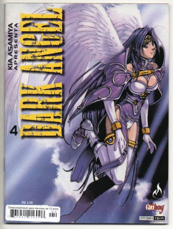 DARK ANGEL nº04 - EDITORA MYTHOS