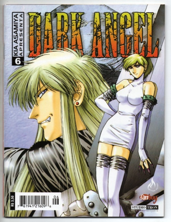 DARK ANGEL nº06 - EDITORA MYTHOS