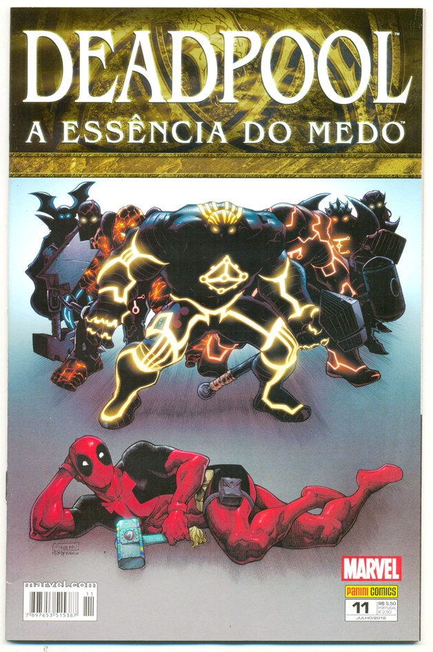 DEADPOOL nº11 - PANINI