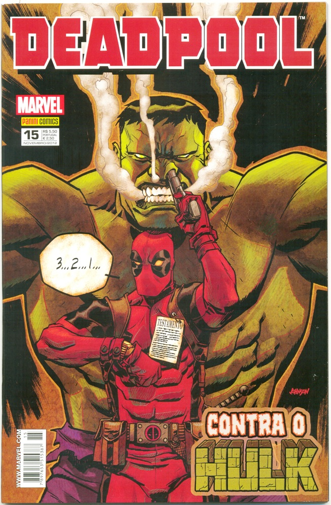 DEADPOOL nº15 - PANINI