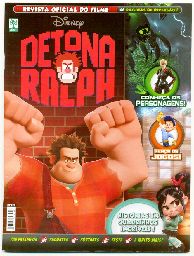 DETONA RALPH - REVISTA OFICIAL DO FILME - ED. ABRIL