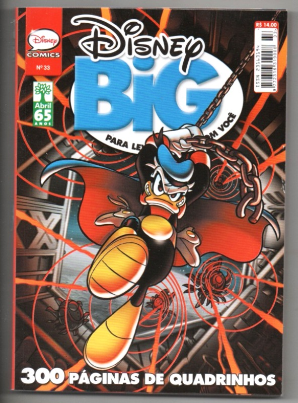 DISNEY BIG nº33 - EDITORA ABRIL