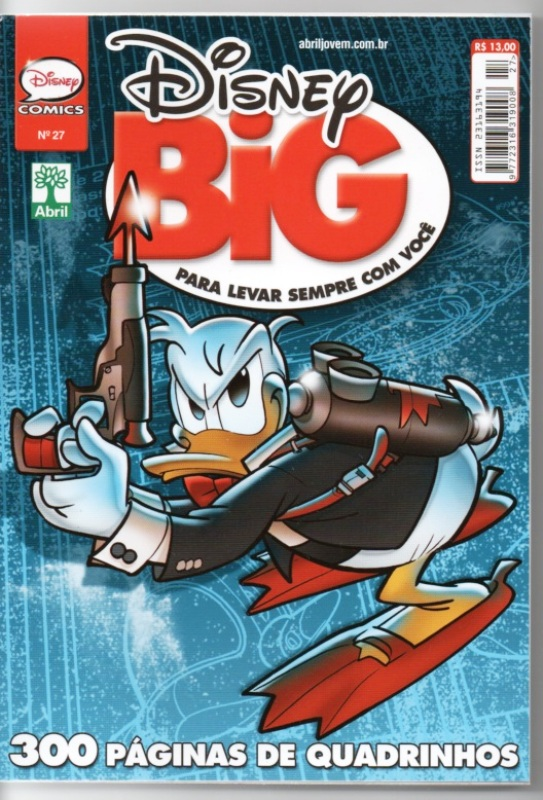 DISNEY BIG nº27 - EDITORA ABRIL
