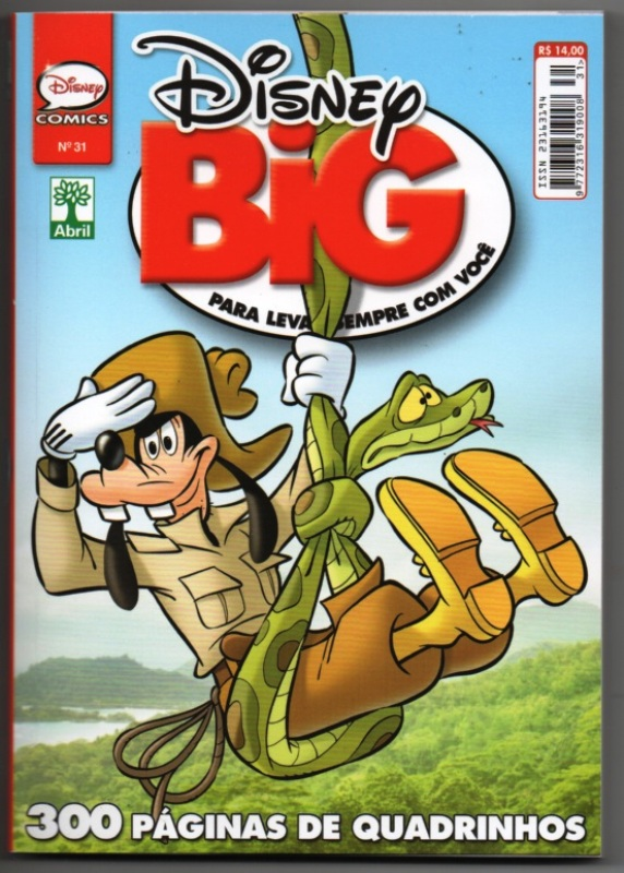 DISNEY BIG nº31 - EDITORA ABRIL