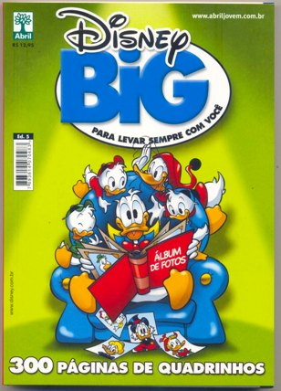 DISNEY BIG nº05 - EDITORA ABRIL