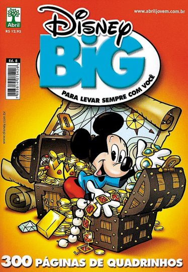 DISNEY BIG nº08 - EDITORA ABRIL