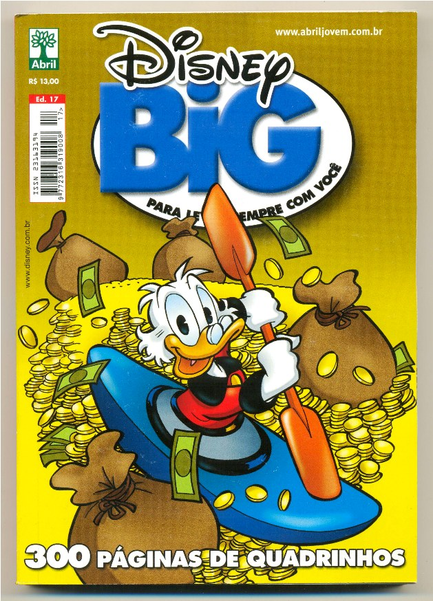 DISNEY BIG nº17 - EDITORA ABRIL