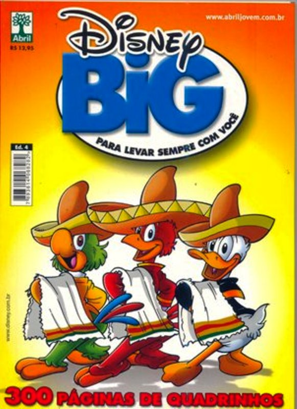 DISNEY BIG nº04 - EDITORA ABRIL