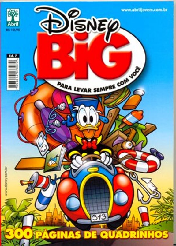 DISNEY BIG nº07 - EDITORA ABRIL