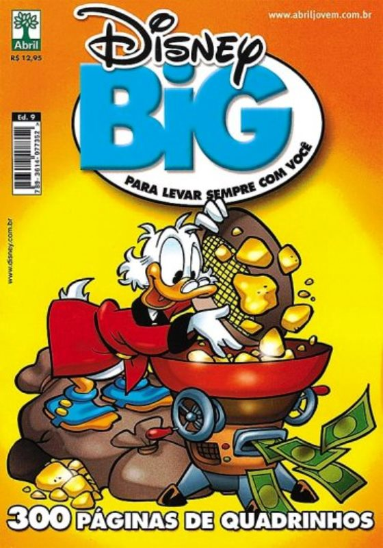 DISNEY BIG nº09 - EDITORA ABRIL