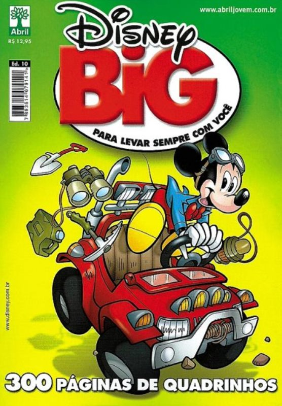 DISNEY BIG nº10 - EDITORA ABRIL