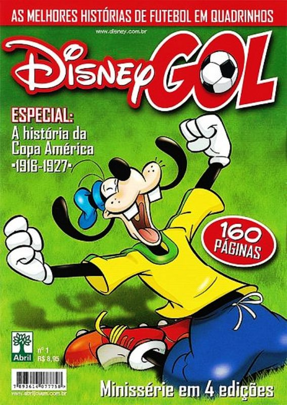 DISNEY GOL nº01 - ED. ABRIL