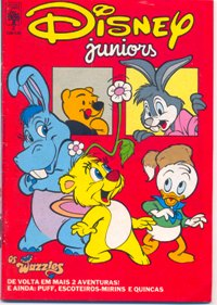 DISNEY JUNIORS nº02 - ED. ABRIL