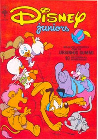 DISNEY JUNIORS nº04 - ED. ABRIL