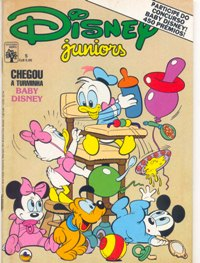 DISNEY JUNIORS nº05 - ED. ABRIL