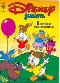 DISNEY JUNIORS nº06 - ED. ABRIL