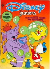 DISNEY JUNIORS nº08 - ED. ABRIL