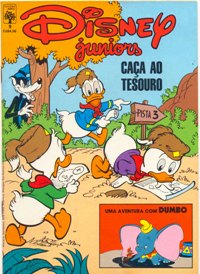 DISNEY JUNIORS nº09 - ED. ABRIL