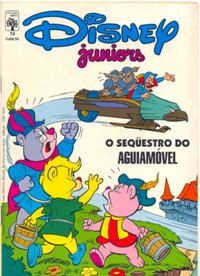 DISNEY JUNIORS nº10 - ED. ABRIL
