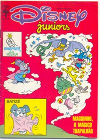 DISNEY JUNIORS nº15 - ED. ABRIL
