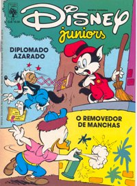 DISNEY JUNIORS nº17 - ED. ABRIL