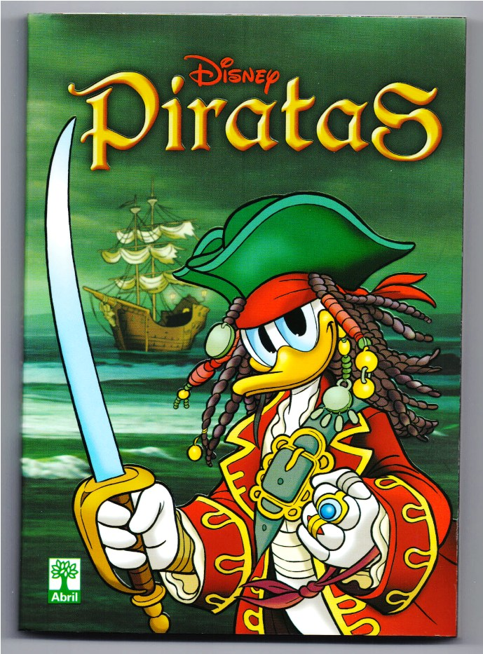 DISNEY PIRATAS - ED. ABRIL