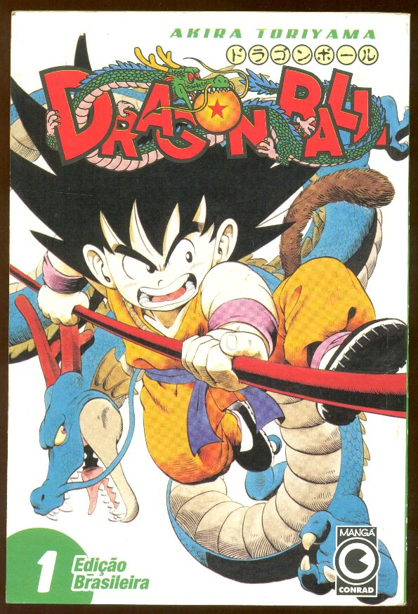 DRAGON BALL nº01 - EDITORA CONRAD