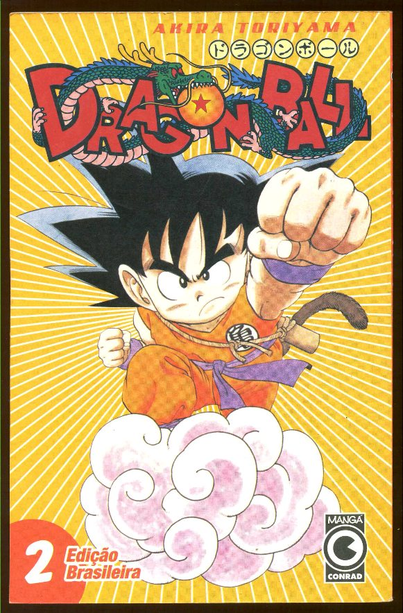 DRAGON BALL nº02 - EDITORA CONRAD