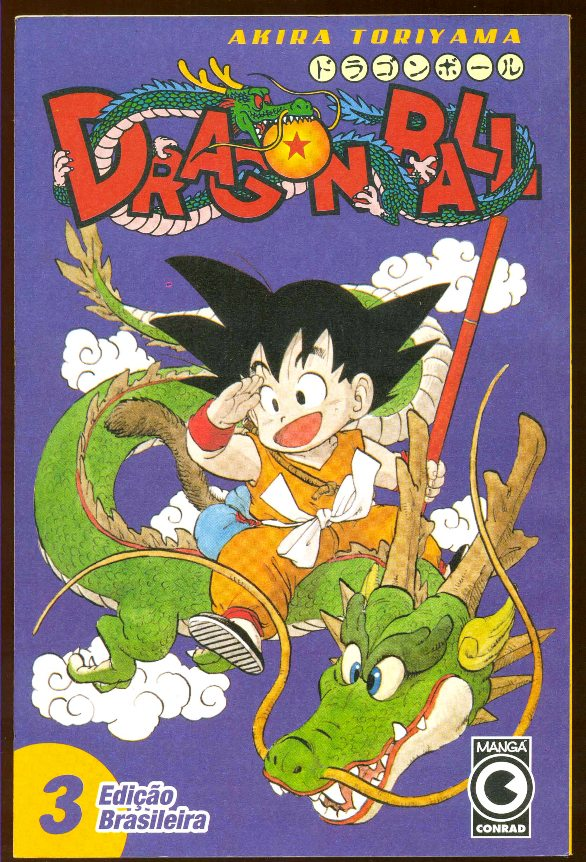 DRAGON BALL nº03 - EDITORA CONRAD