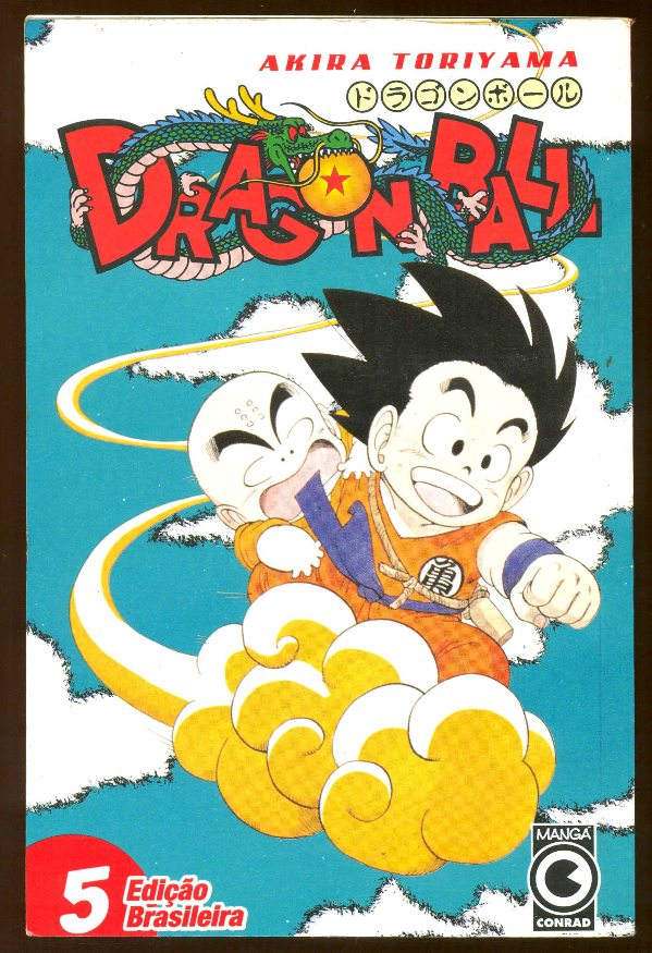 DRAGON BALL nº05 - EDITORA CONRAD