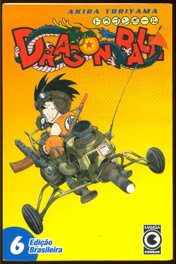 DRAGON BALL nº06 - EDITORA CONRAD